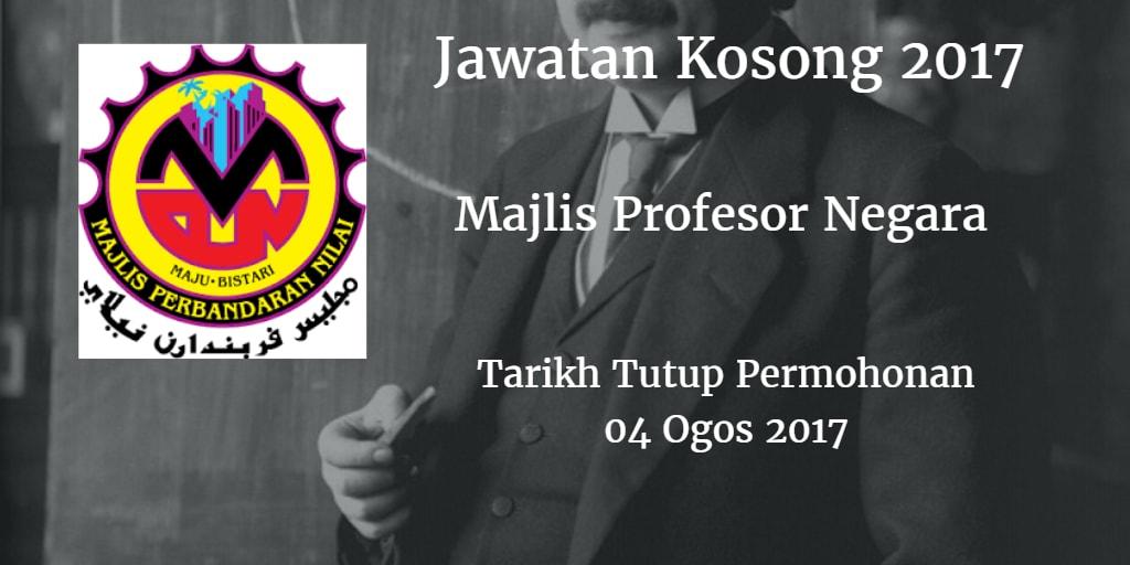 Jawatan Kosong MPN 04 Ogos 2017