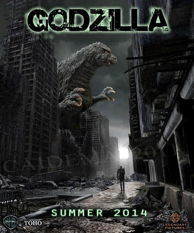 Godzilla Legends: Godzilla 2014 Poster And Casting