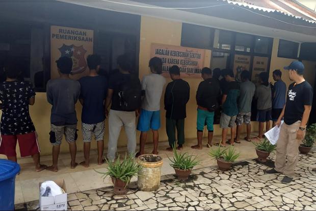 Kapolres Pangkep, 11 Orang Ini Diduga Pelaku Illegal Fishing