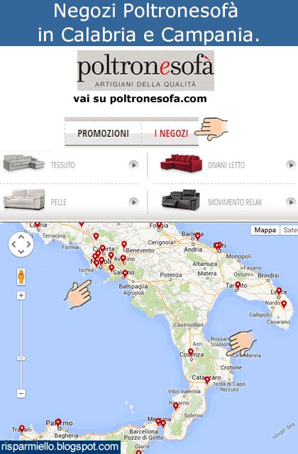Poltrone E Sofa Campania.Risparmiello Poltronesofa Calabria E Campania Negozi