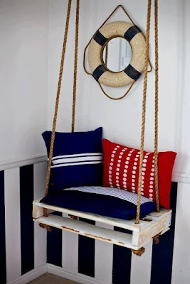 palette constructions, pallets, summer ideas, decoration, rope, lamp, wall clock, frame, outdoor table, patio garden ideas, balcony, summer decoration ideas, nautical theme decoration, candlestick, serving tray, mirror