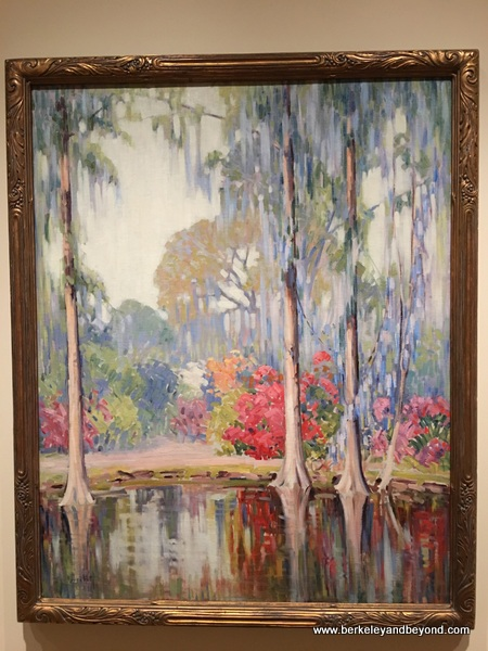 """Magnolia Gardens"" at The Gibbes Museum of Art in Charleston, South Carolina"