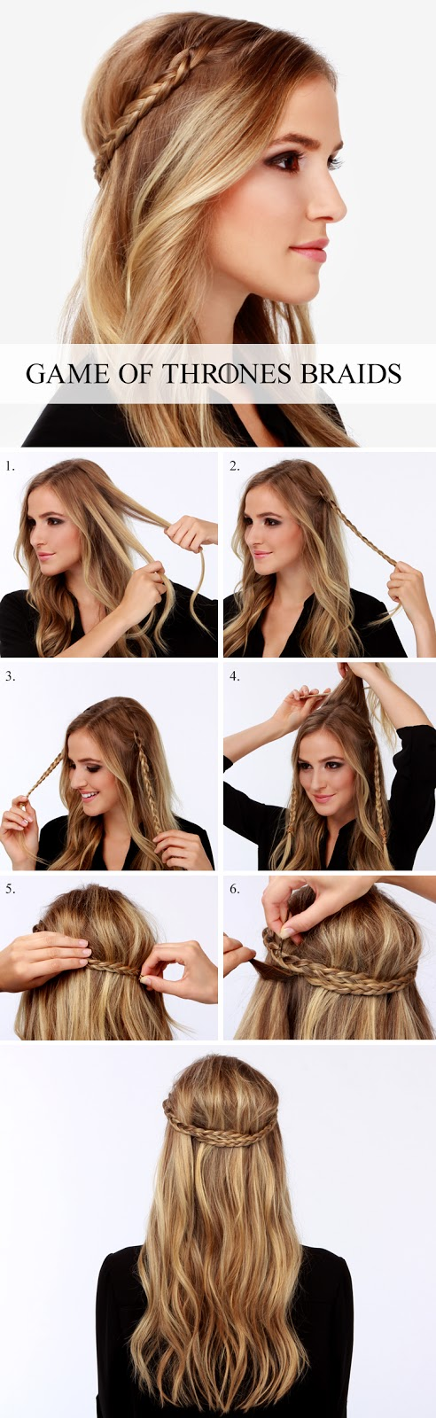 6 cutest easy braided hair tutorial in 10 minutes 6