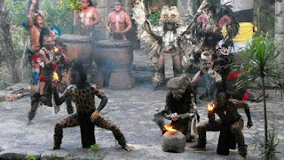 Bailarines mayas