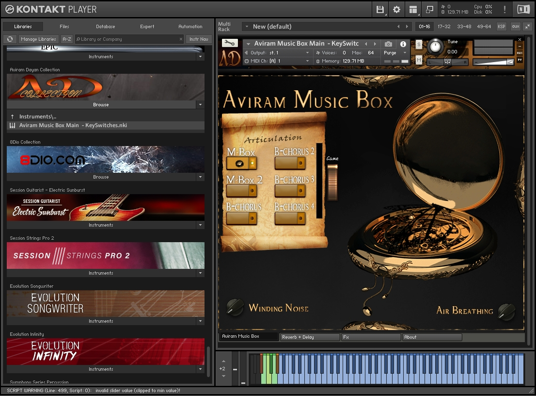 Aviram Dayan - Aviram Music Box KONTAKT Library