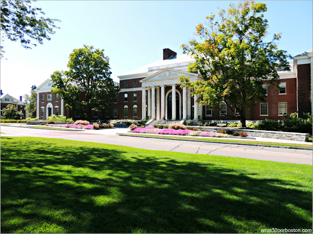 Waterman Building en la Universidad de Vermont, Burlington
