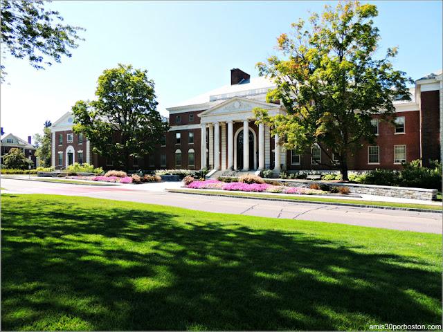 Waterman Building en la Universidad de Vermont, Burlington
