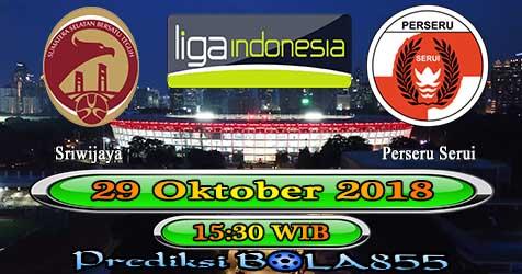 Prediksi Bola855 Sriwijaya vs Perseru Serui 29 Oktober 2018