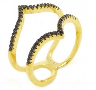 aneis delicados folheados