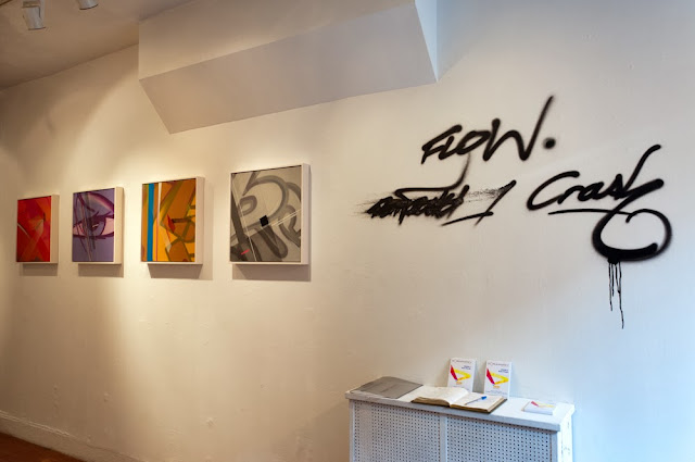 CRASH and the UK's Remi/Rough are in a new exhibition entitled 'Flow', now on display at Dorian Grey Gallery in NYC's East Village.