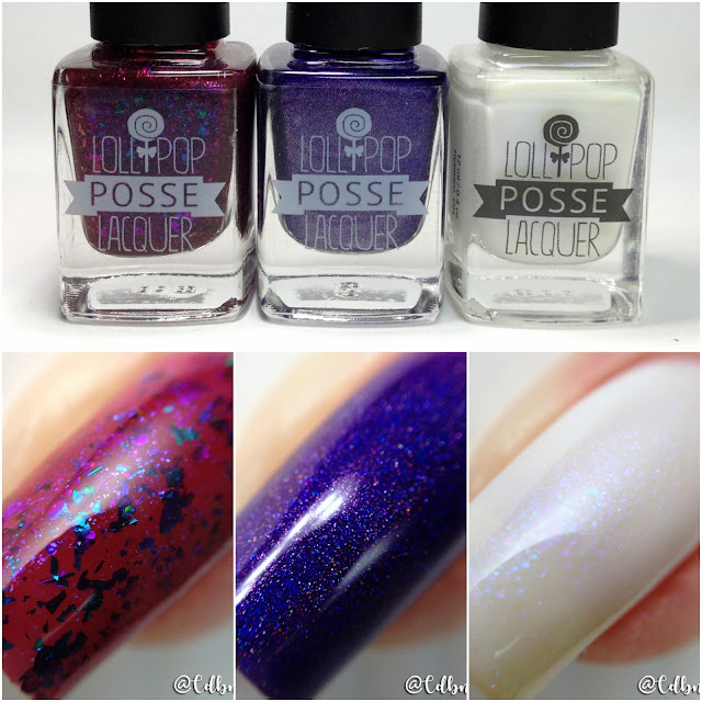 Lollipop Posse Lacquer-Terrible Twos Anniversary Trio