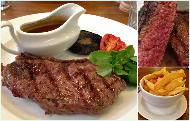 The Albert Square Chop House, Manchester - Steak