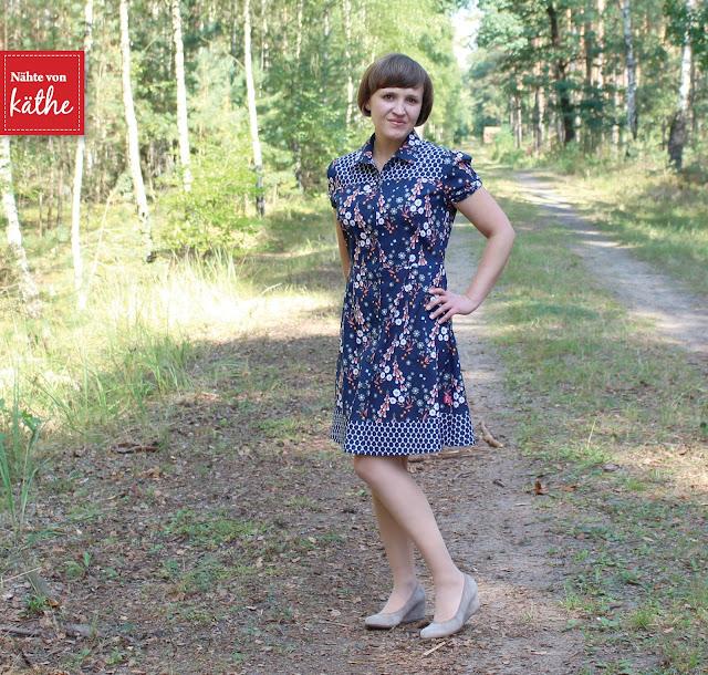 Kleid Dolores von Milchmonster aus Cloud 9 Foxglove Kollektion