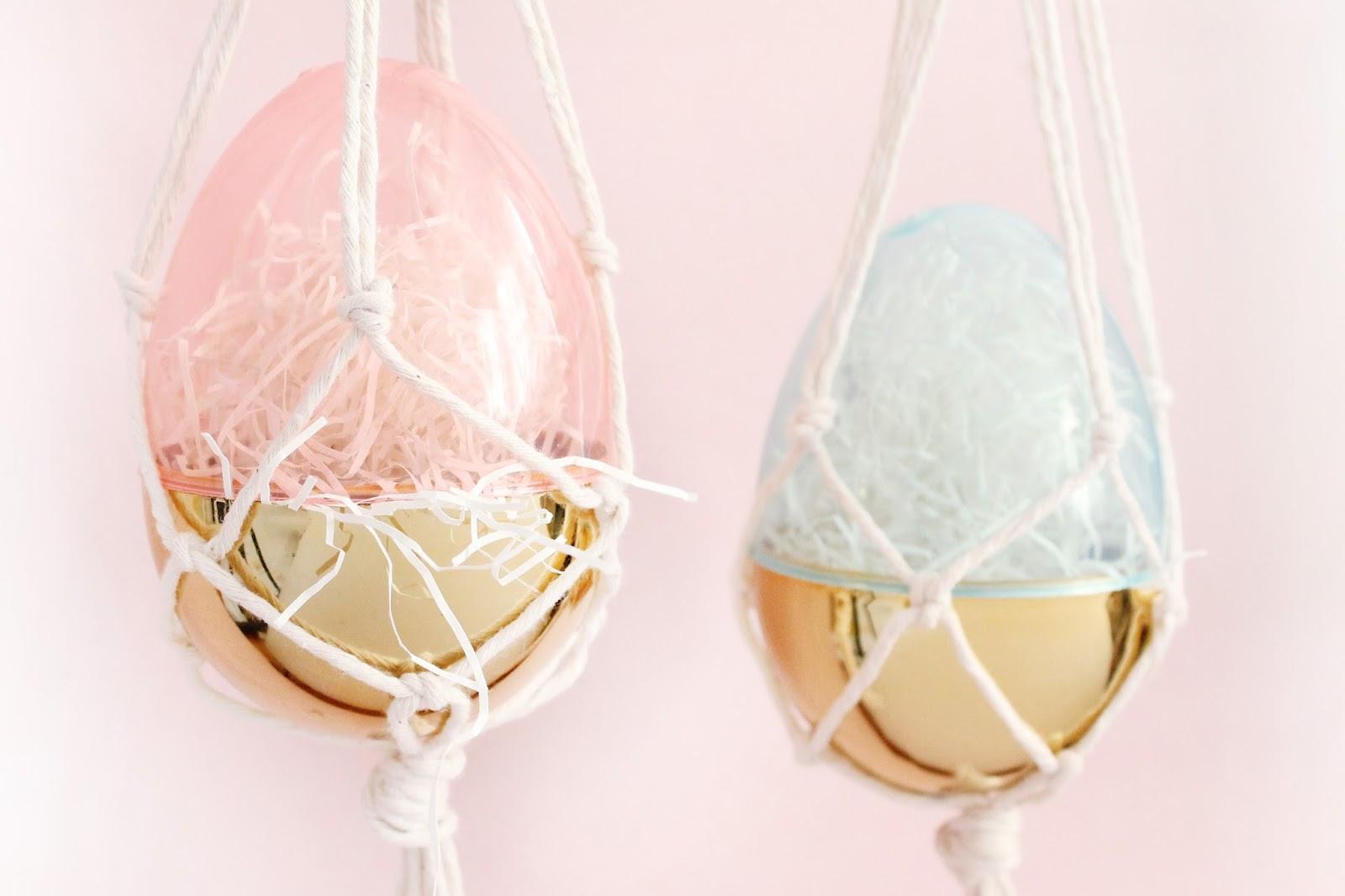 Macrame Easter Egg