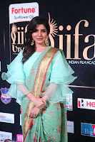 Samantha Ruth Prabhu Smiling Beauty in strange Designer Saree at IIFA Utsavam Awards 2017  Day 2  Exclusive 39.JPG