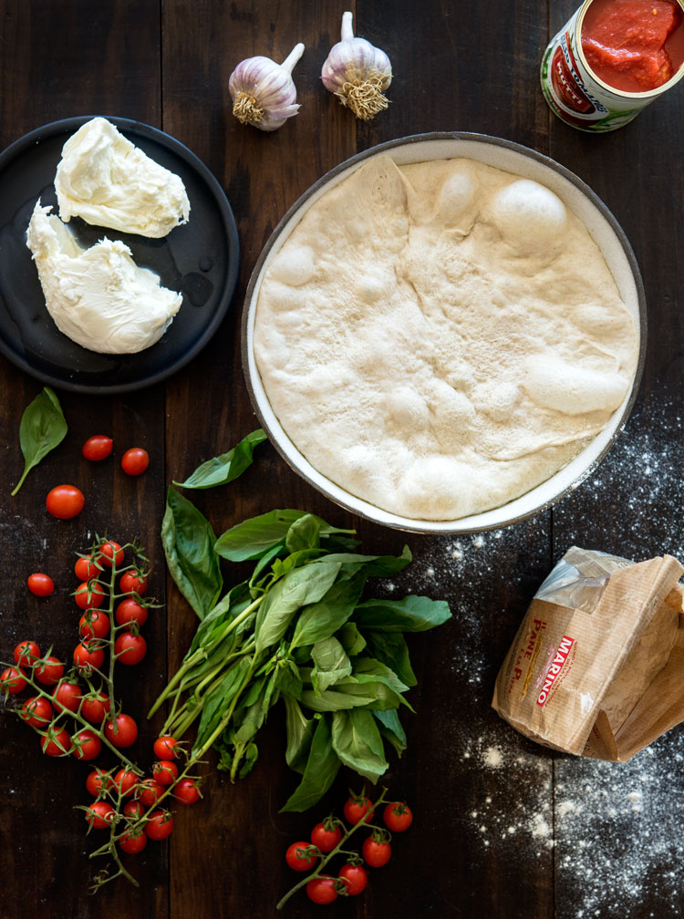 how to make roman style pizza dough