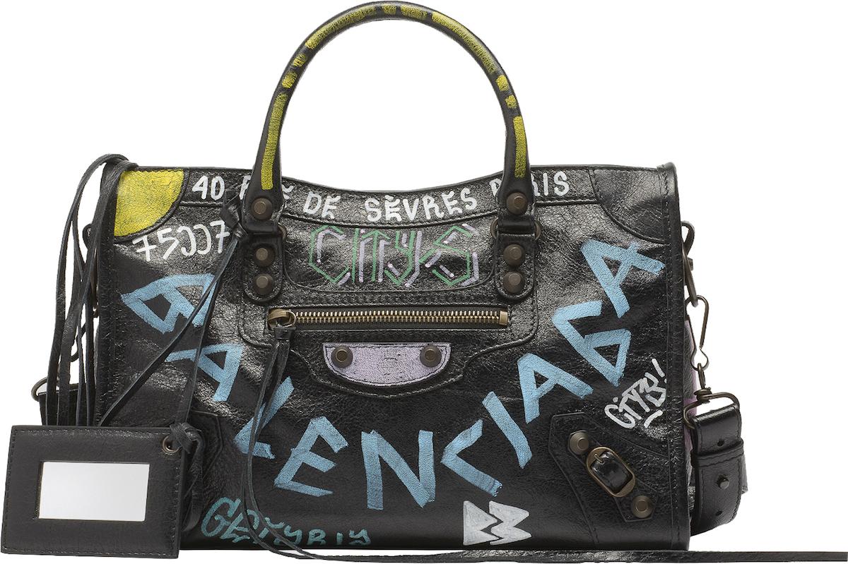 Balenciaga's Graffiti City S Bags