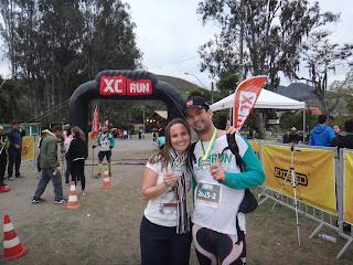 XC Run Itaipava 2015 uma das duplas