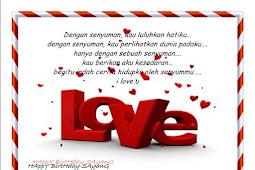 Ucapan Selamat Ulang Tahun Untuk Kekasih Tercinta