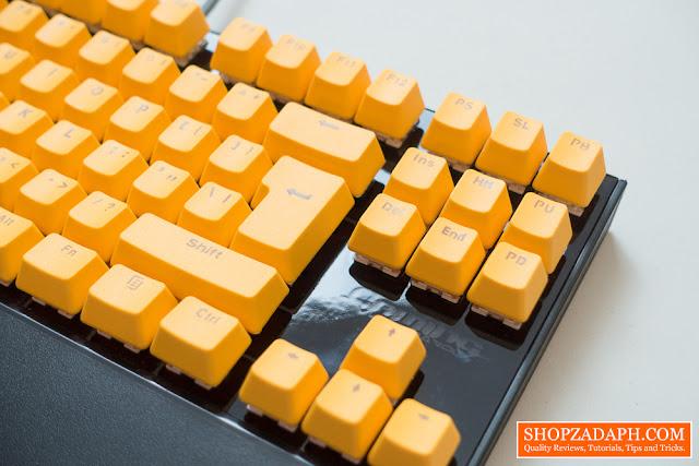 orange pbt keycaps