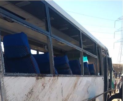 بالصور| إصابة 40 شخصاً في حادث أوتوبيس طريق حلوان منذ قليل.. والداخلية تكشف التفاصيل