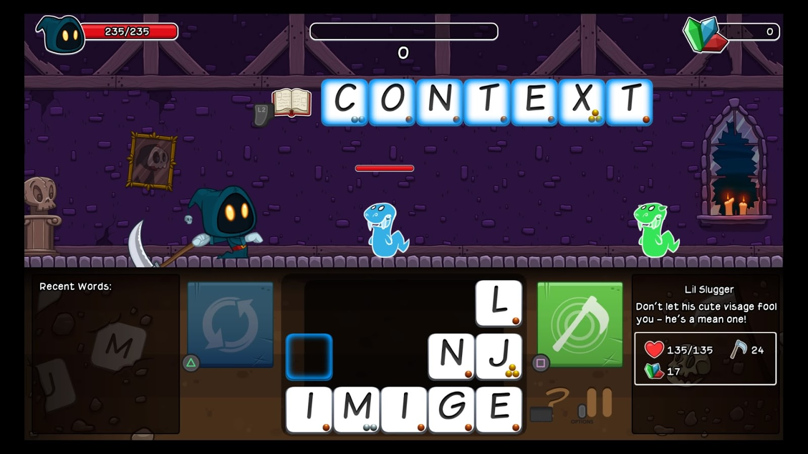 Letter Quest Remastered Words