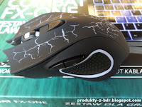 Zestaw dla gracza klawiatura mysz COMBAT FX-ONE z Biedronki