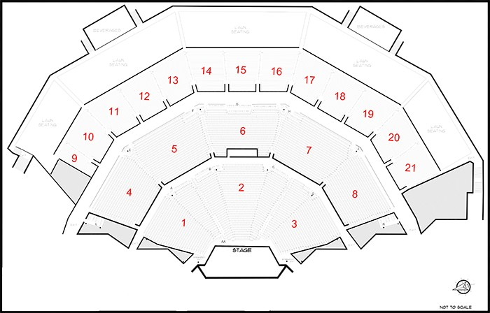 marcus amphitheater seating - American Family Insurance Amphitheater Summerfest The World