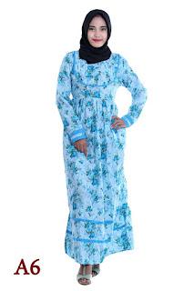 dress cantik, dress katun jepang, grosir gamis cantik