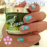 diy spring floral nails, diy flower nails, diy spring nail ideas, lauren banawa