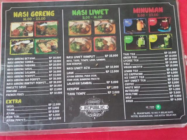 Republic nasi goreng tempat nobar master chef Indonesia