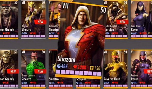 15 May INJUSTICE 2 15: PUBLIC ACCOUNT MAXED EVERYTHING/ALL