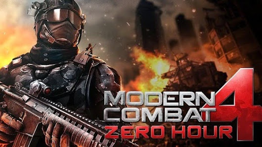 Phone apps: Modern Combat 4: Zero Hour