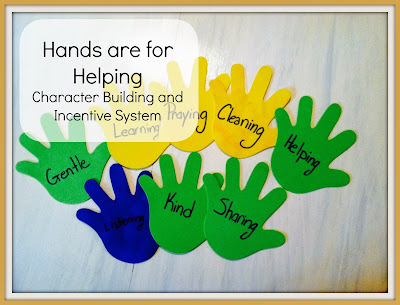 hand are for helping charater incentive system