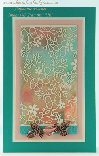 #thecraftythinker  #sdbh  #sneakpeek #cardmaking  #stampinup, SDBH, Sneak Peek, Delightfully Detailed Laser Cut, Stampin' Up Australia Demonstrator, Stephanie Fischer,Sydney NSW