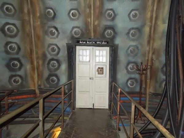 Tardis Interior Door