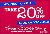 Arnold Grummer's July Coupon