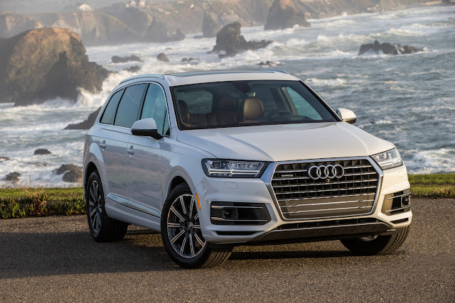 The Audi Q7 is perfect for road trip adventures