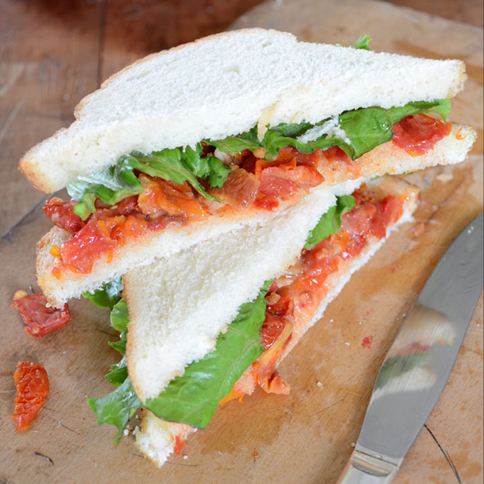 Sun Dried Tomato Sandwich