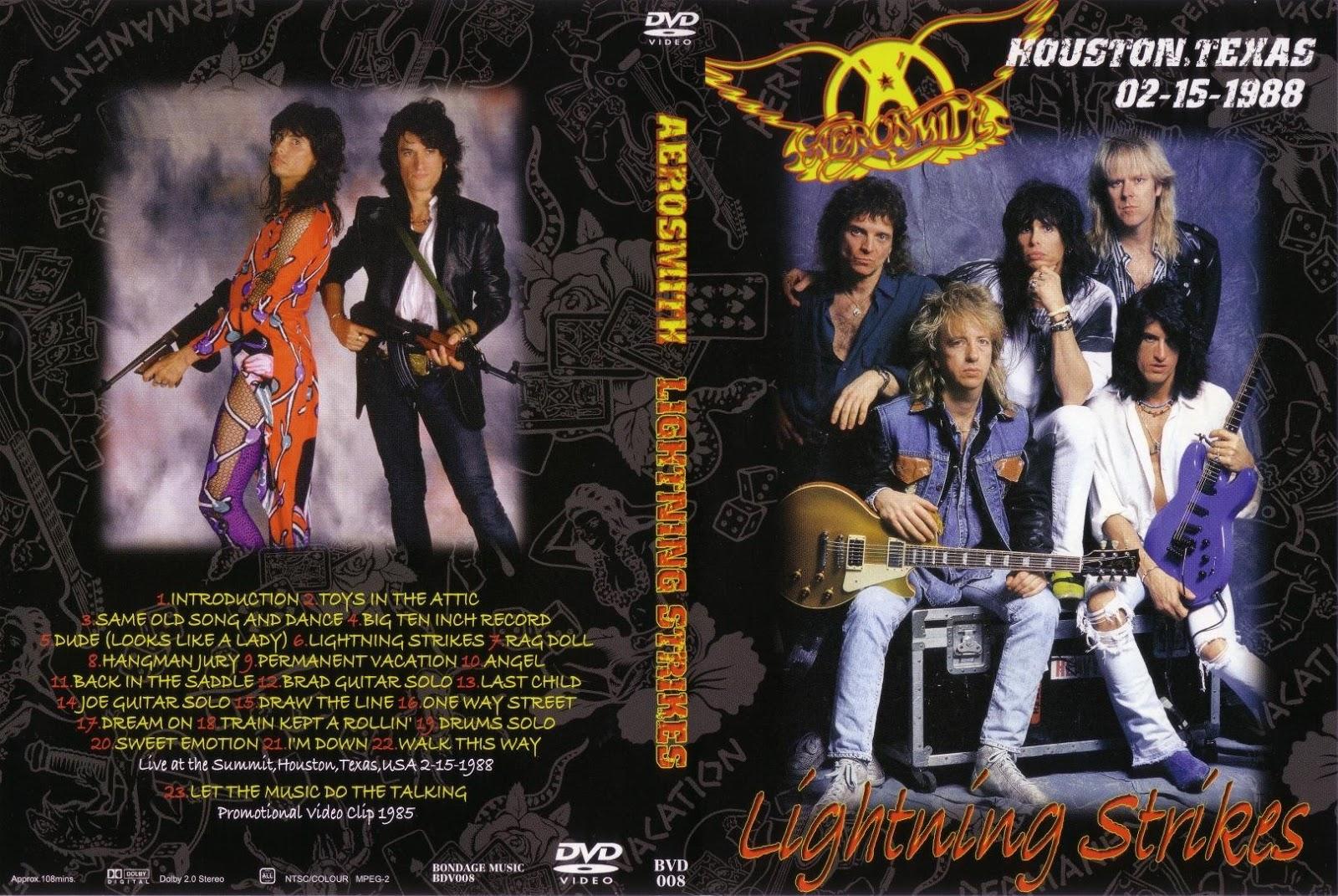 T U B E Aerosmith 1988 02 15 Houston Tx Dvdfull