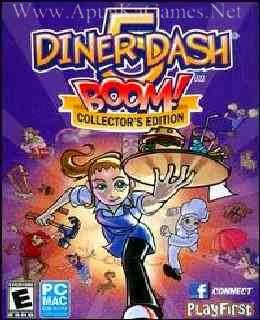 Diner Dash 5 BOOM Free Download Full Version - Free PC Games Den