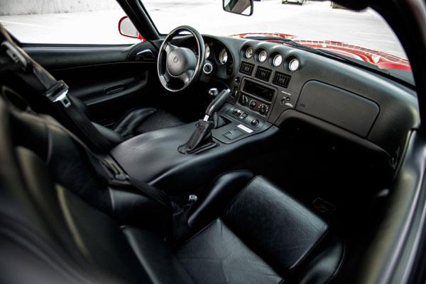 Interior 2000 Dodge Viper GTS