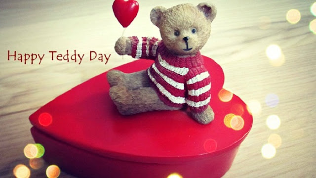 happy teddy day messages, best teddy bear day message images free download