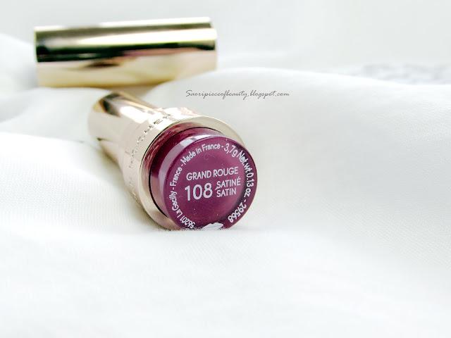 Сочная ягода в оттенке 108 от Yves Rocher / блог A piece of beauty