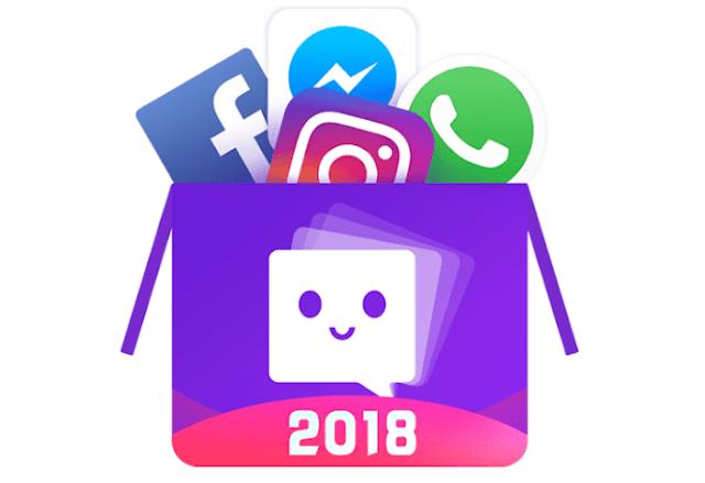 تطبيق MoChat لفتح حسابين  لجميع تطبيقات الشات