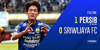 Persib Bandung Tundukkan Sriwijaya FC 1-0