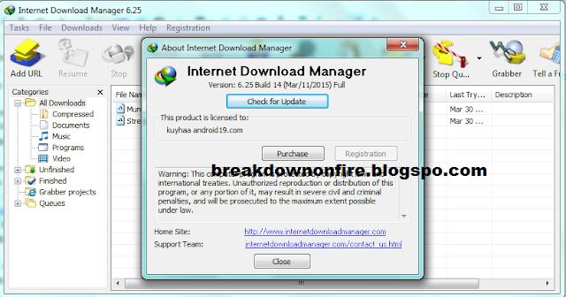 Internet Download Manager v6.25.14 Free download full for all