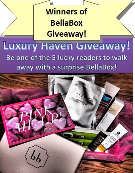 bellabox giveaway, beauty boxes