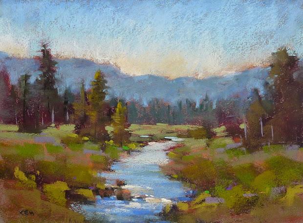 Pastel Paintings Soft Pastels Landscape