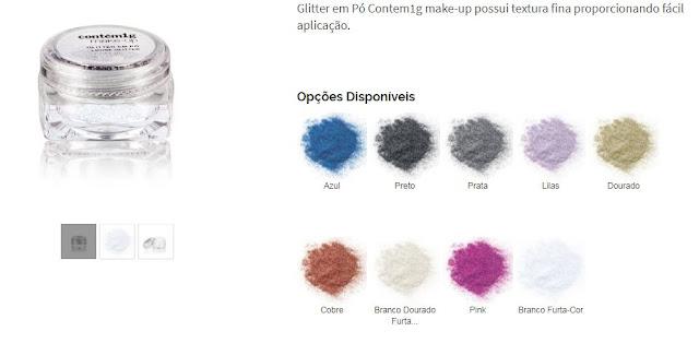 Sombra Glitter da Contém 1G